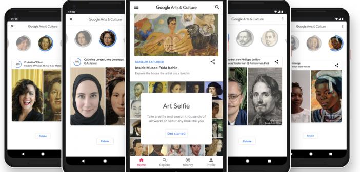 Art Selfie: descubrí tu doble artístico!