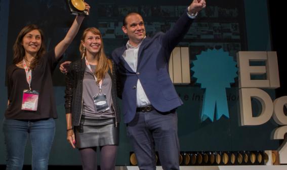 """El Premio Especial """"Mejor Idea Internacional"""" de ElDorado"""