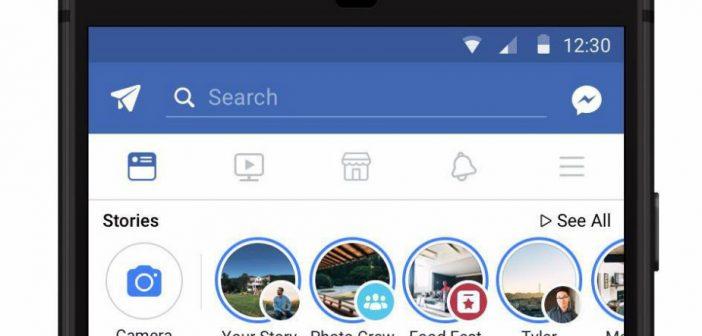 La publicidad llega a Facebook Stories