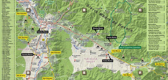 El primer mapa interactivo 3D del estado de Oaxaca fue diseñado por Van Dam