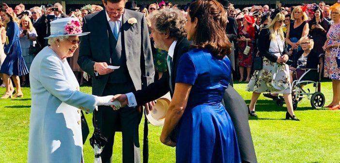 Guibert Englebienne de Globant fue recibido por la Reina Isabel II