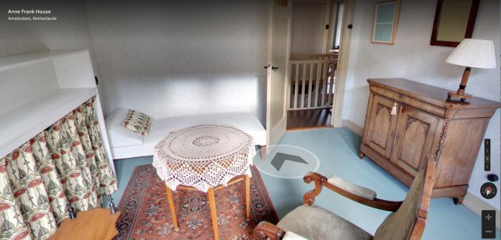 Google Arts & Culture permite conocer la antigua casa de Ana Frank