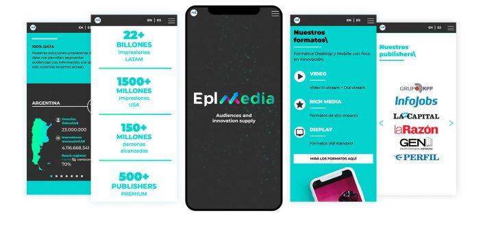 La propuesta programática se luce en el nuevo sitio de EPL MEDIA