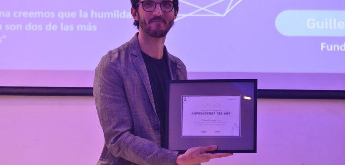 Guillermo Bracciaforte, Co-fundador de Workana, fue elegido Emprendedor del Año por Vaio