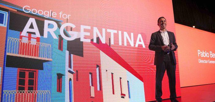 Por primera vez Google presentó Google for Argentina