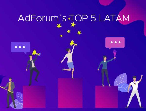 TOP 5 de Adforum: las mejores publicidades latinas de agosto