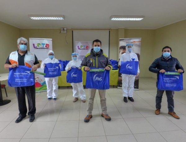 P&G Chile dona productos de higiene a personal médico