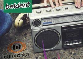 Beldent activó frescura en Metro 95.1