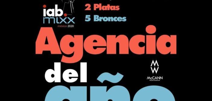 McCann Worldgroup, Agencia del Año en los premios IAB en México