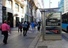Hyundai lleva la publicidad programática a las calles de España