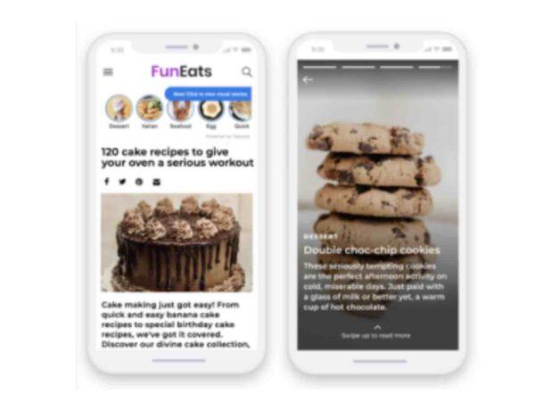 """Taboola se une a Snap, Instagram y Twitter al lanzar """"Stories"""", ahora en la web abierta"""