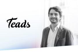Baptiste Tougeron es el nuevo VP Research & Insights de Teads para América Latina