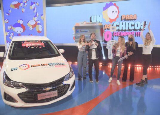 """Chevrolet participó del evento """"Un Sol para los Chicos"""" de UNICEF Argentina"""