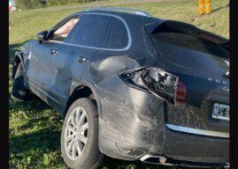 El famoso publicista Ramiro Agulla chocó su Porsche y siguió de fiesta